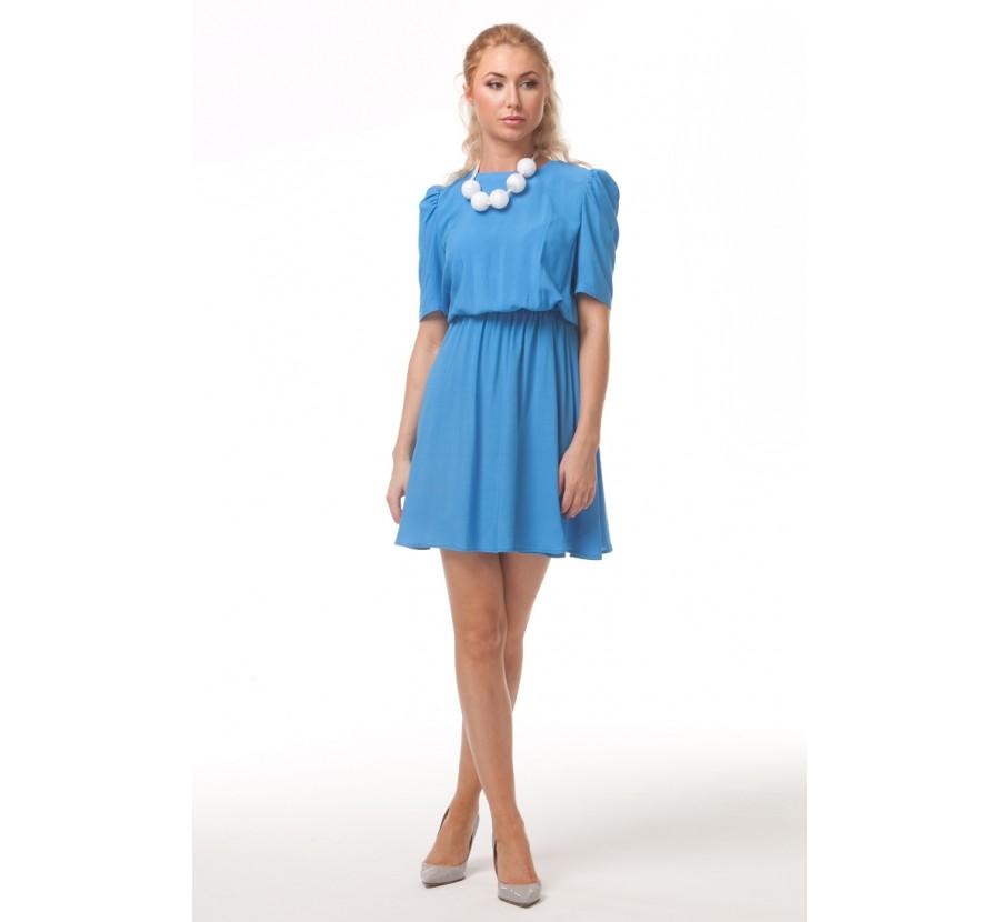 Синее Платье С Доставкой