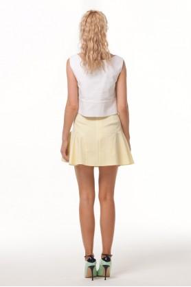 Короткая юбка клеш