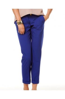 Модные синие брюки