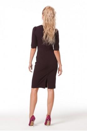 Платье футляр до колена