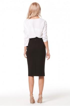 Оригинальная белая блузка
