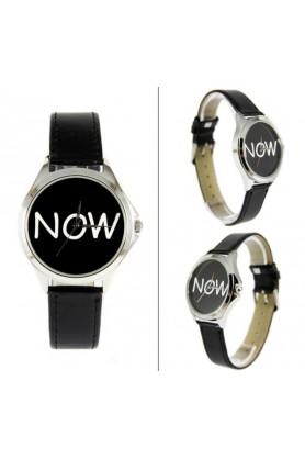 Классические черные часы от Andy Watch