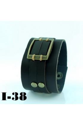 Классический кожаный браслет от Scappa-33795