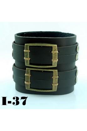 Жесткий коричневый браслет от Scappa-33794