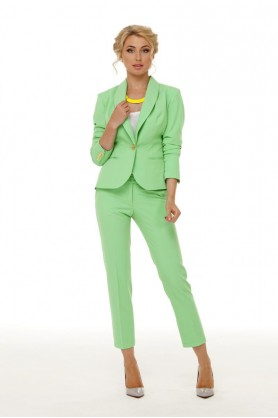 Салатовые брюки от Must Have-33503