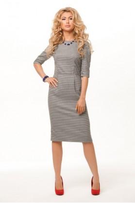 Женское офисное платье