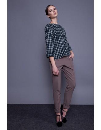 Женские брюки прямого покроя
