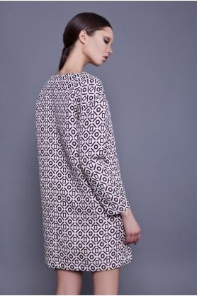 Широкое короткое платье от Anna Yakovenko
