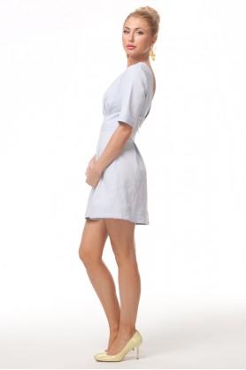 Голубое платье с открытой спиной от Must Have