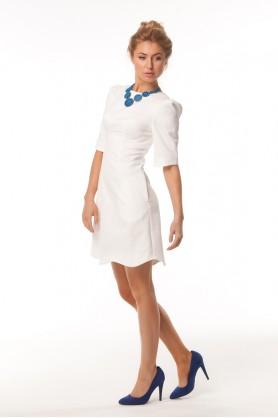 Короткое жаккардовое платье