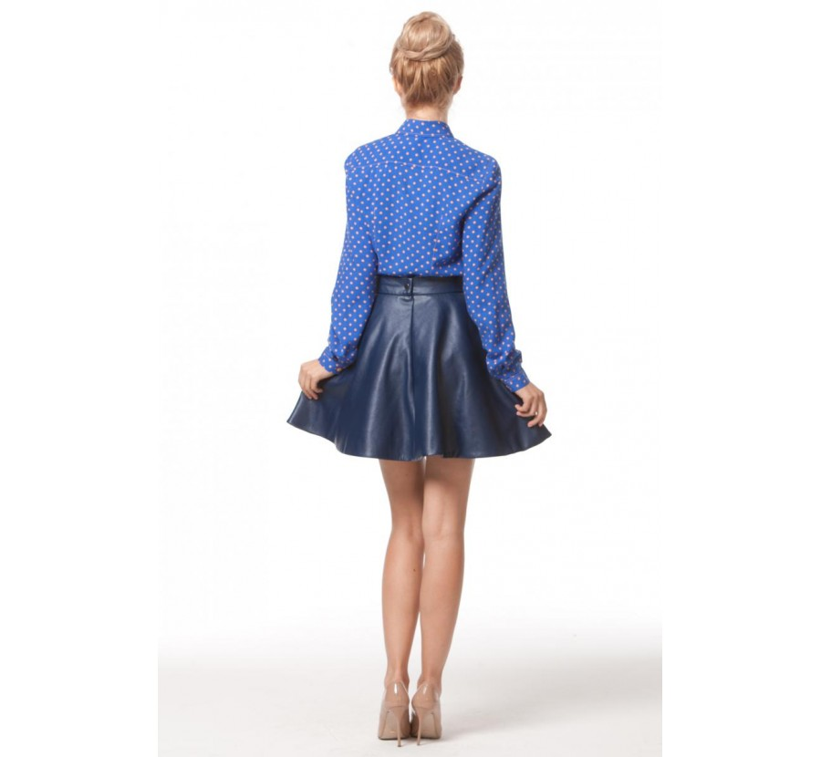 Синяя Юбка И Белая Блузка В Екатеринбурге