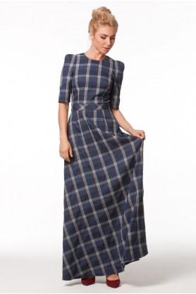 Вечернее клетчатое платье от Must Have