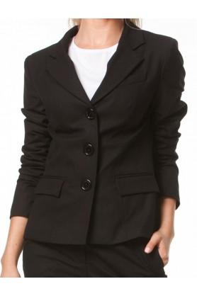 Строгий черный пиджак от Must Have