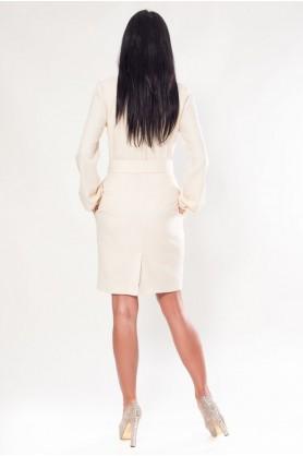 Милое белое платье