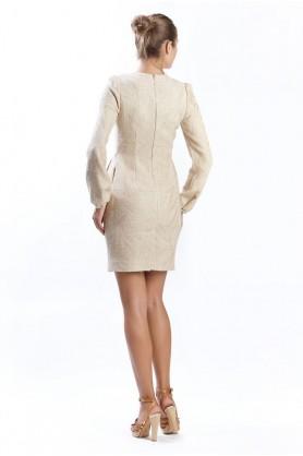 Платье Премьер бежевое