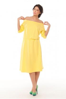 Желтое платье от MUST HAVE