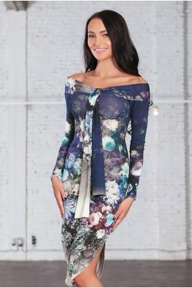 Модное яркое платье от POLINA EFIMOVA