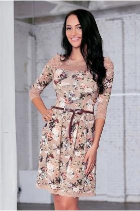 Женственное платье от Polina Efimova