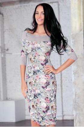 Красивое платье от Polina Efimova